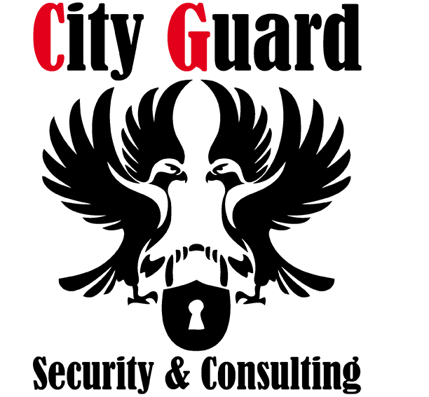 Logo für City Guard von Christoph Joni entworfen.